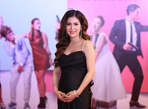 """Bạn gái Việt Anh """"Chạy án"""" khệ nệ vác bụng bầu 6 tháng đi sự kiện-4"""