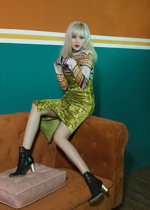 """Khó rời mắt khi """"bạn gái Sơn Tùng"""" sexy, nổi loạn trước thềm The Remix-6"""