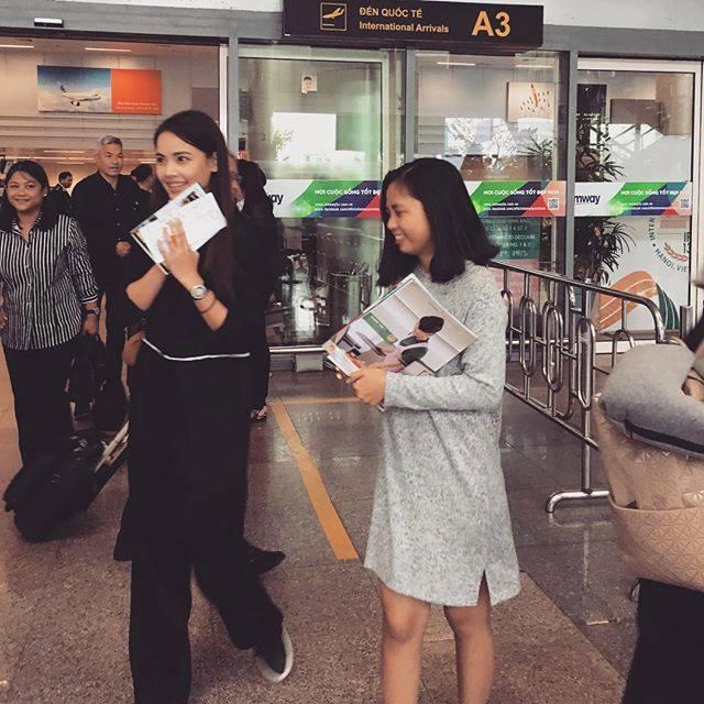 Người đẹp lai Thái Lan khoe ảnh đội nón lá xuất hiện tại Đà Nẵng - Huế-3