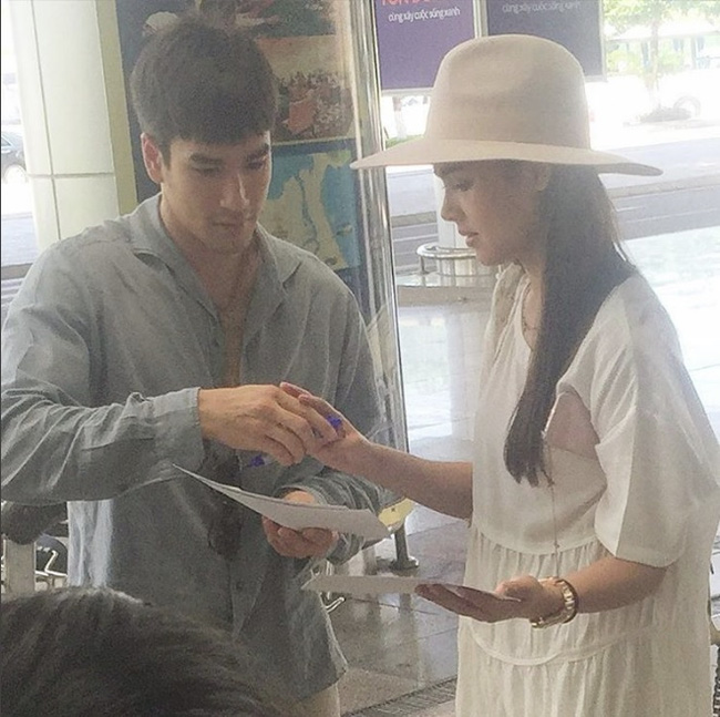 Người đẹp lai Thái Lan khoe ảnh đội nón lá xuất hiện tại Đà Nẵng - Huế-5