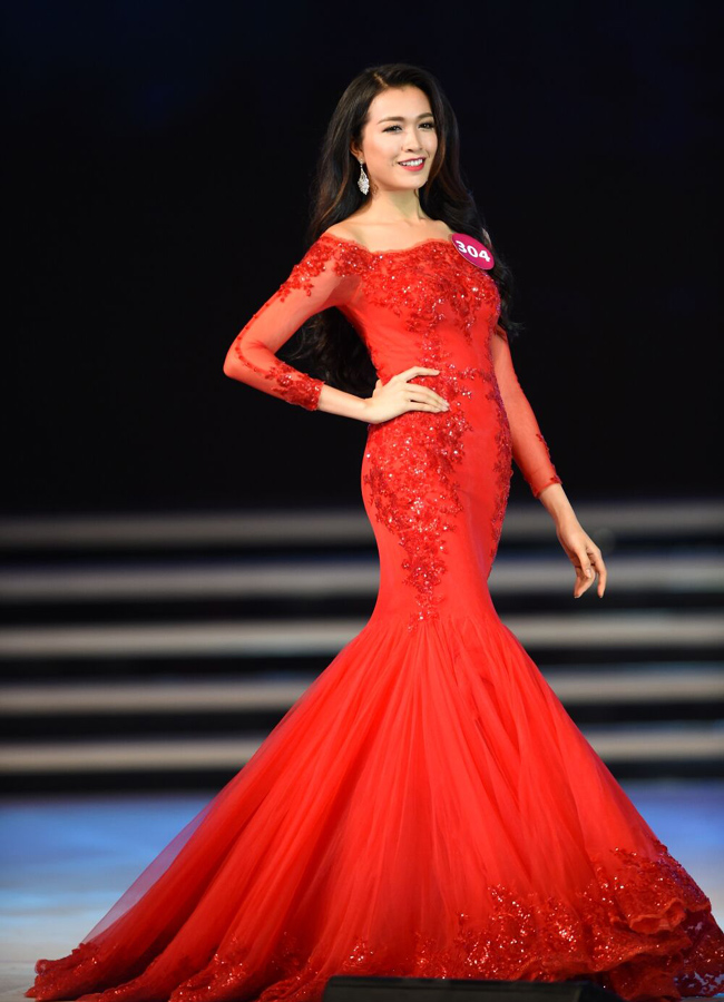 Á hậu Lệ Hằng chính thức đại diện Việt Nam tham dự Hoa hậu Hoàn vũ Thế giới-2