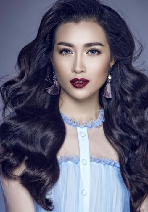 Á hậu Lệ Hằng chính thức đại diện Việt Nam tham dự Hoa hậu Hoàn vũ Thế giới-1