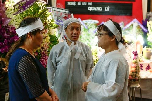 Chồng ra đi không kịp trăn trối, vợ NSƯT Quang Lý cố bình tĩnh trong đêm cuối tiễn đưa-2