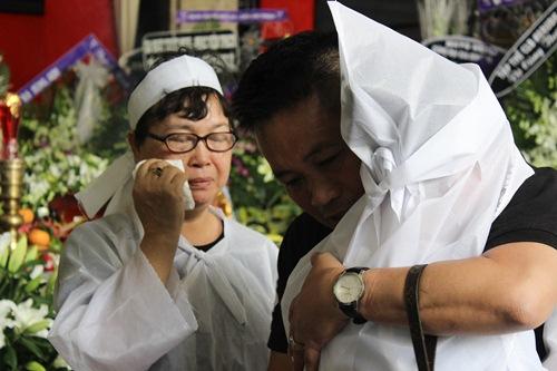 Chồng ra đi không kịp trăn trối, vợ NSƯT Quang Lý cố bình tĩnh trong đêm cuối tiễn đưa-5