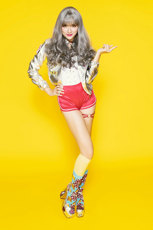 huong giang idol khang dinh hinh tuong 16+ o the remix khong phan cam - 1