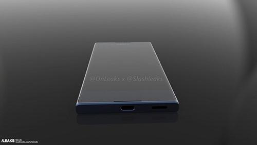 ro ri smartphone xperia xa the he 2: cong usb-c, vien man hinh mong - 3