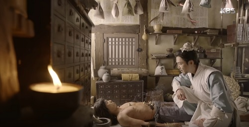 """hwarang tap 2: khan gia dau xot chia tay """"hoang tu chau a"""" lee kwang soo - 6"""