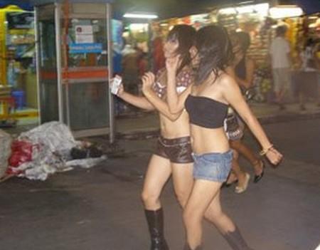 Gái mại dâm phần lớn đến từ những nước châu Á