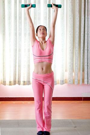 Bài tập nâng cơ ngực - 2