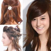 7 kiểu tóc điệu dài quá vai