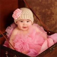 Tự làm mũ len xinh yêu cho bé