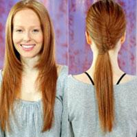 Hướng dẫn 3 cách cột tóc điệu