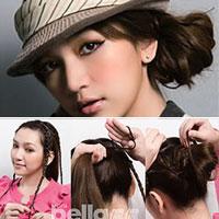 8 kiểu tóc đẹp đón Tết