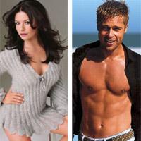 Catherine Zeta-Jones xấu hổ khi để mặt mộc trước Brad Pitt