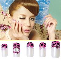 7 kiểu nail hồng dễ thương
