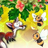 """Mẹ kể con nghe: """"Con cáo và tổ ong"""""""