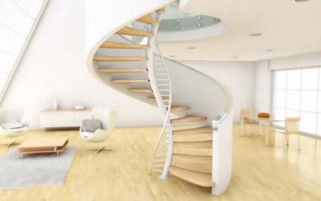 Cầu thang trong nhà và những điều kiêng kỵ - 1