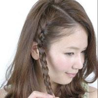 Dịu dàng tóc tết mùa hè