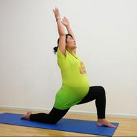 Bài tập yoga siêu đơn giản cho bà bầu