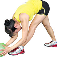 Làm đẹp dáng: Tập thể dục với bóng