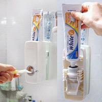 Thích thú với hộp đựng kem đánh răng tự động