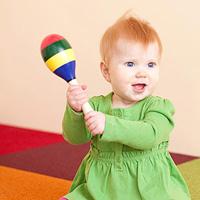Hoạt động phát triển nhận thức ở trẻ 6-9 tháng tuổi