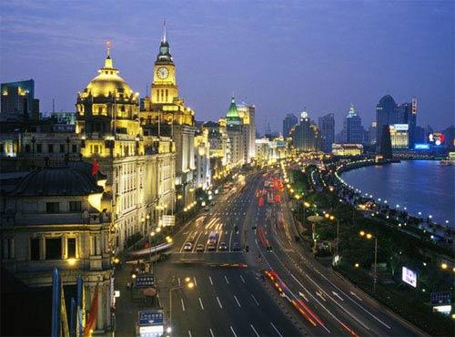 Thượng Hải huy hoàng ánh đèn đêm - 1