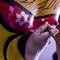 Xem Body Painting để yêu hơn cơ thể phụ nữ