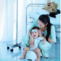 Trẻ bị tiêu chảy cấp, xử lý ra sao?
