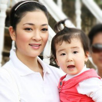 Thiên thần nhỏ của hoa hậu Nguyễn Thị Huyền