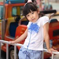 Xinh xinh thời trang dạo phố cho bé gái
