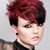 Màu tóc nhuộm cực kì Rock!