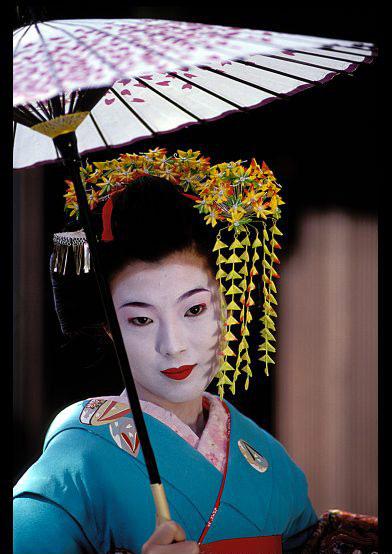 Nghệ thuật trang điểm của Geisha - 1