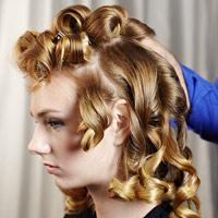 Làm tóc xoăn rũ mềm