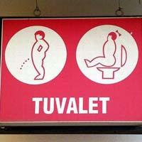 """Những biểu tượng toilet """"độc nhất quả đất"""""""