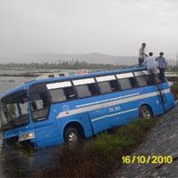 Hà Tĩnh: Tai nạn tăng do mưa lũ