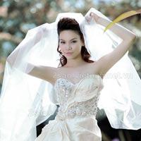Ảnh cưới tuyệt đẹp của ca sĩ Hồ Ngọc Hà