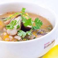 Canh bắp cải nấu giò sống-8