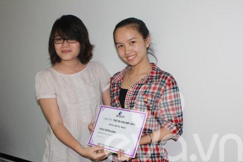 le trao giai cuoc thi tro tai vao bep 2012 - 7