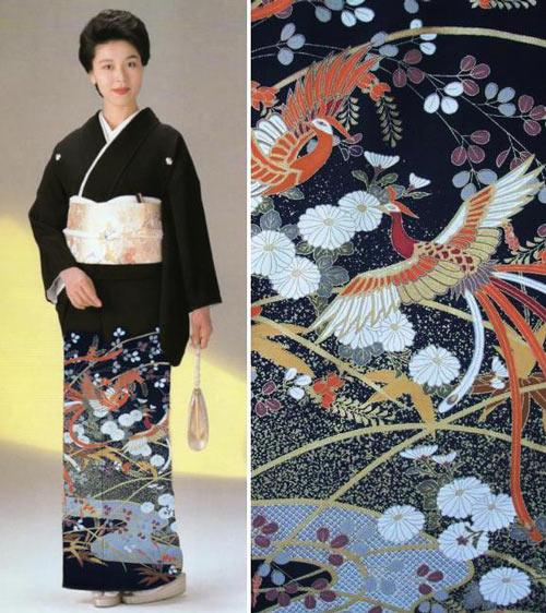 suc hut tu trang phuc truyen thong kimono - 13