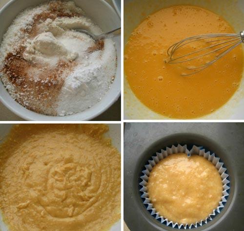 Bánh muffin dừa và bí đỏ thơm ngon-2