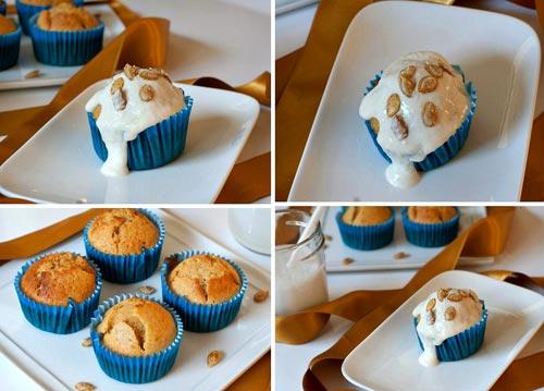 banh muffin dua va bi do thom ngon - 3