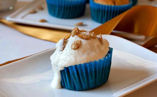 Bánh muffin dừa và bí đỏ thơm ngon-5