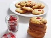 Bánh quy nhân quả khô giòn xốp