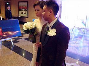 Hot girl Mi Trần xúc động trong ngày cưới