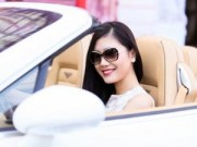 Giải trí - Lã Kiều Anh nổi bật bên siêu xe 8 tỷ đi sự kiện