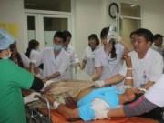 Sập giàn giáo: Bộ Y tế cử bác sỹ từ Hà Nội vào hiện trường