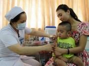 Tiêm miễn phí vắc xin sởi - rubella cho trẻ