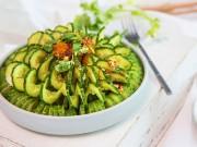 Bếp Eva - Salad dưa chuột vừa ngon lại đẹp mắt nhìn là mê