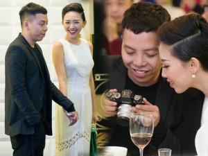 """Tóc Tiên và """"người tình tin đồn"""" tay trong tay đi tiệc cưới"""